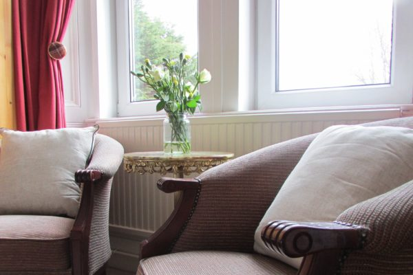 Spacious rooms to relax in after your travels
